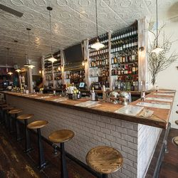 """<a href=""""http://ny.eater.com/archives/2013/02/the_meatballers_now_slinging_balls_and_drinks_in_chelsea.php"""">The Meatball Shop Opens in Former Klee Brasserie Space</a>"""