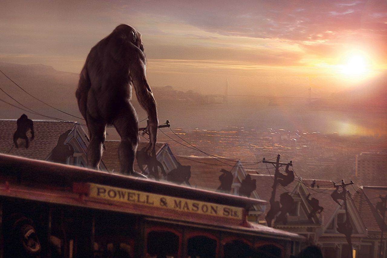 planet of life: apes to man essay ('hominin' refers to any bipedal species closely related to humans – that is, on the   the acheulean way of life disappeared from the region sometime between   entirely new survival challenges for the lone hominin species on the planet,.