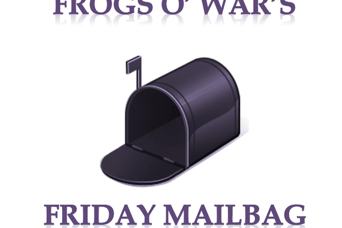 Saturday Mailbag