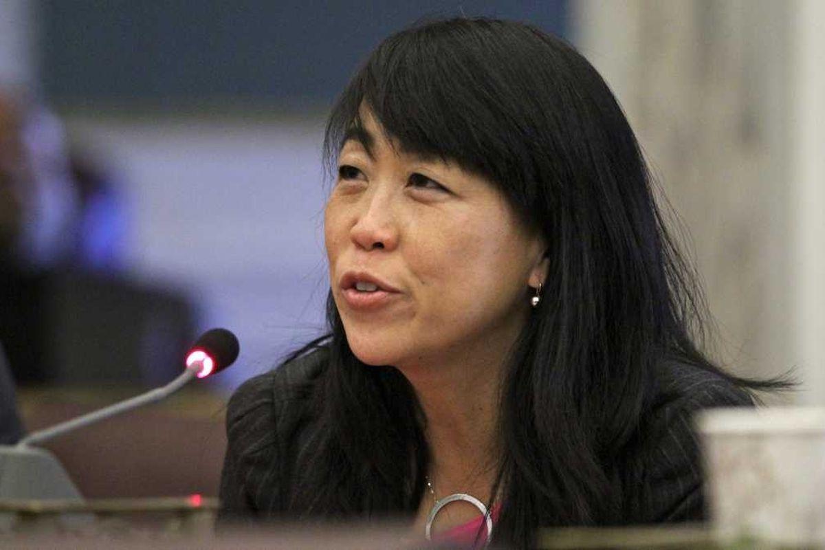Council member Helen Gym