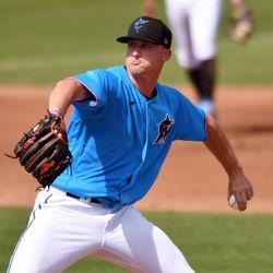 Braxton Garrett, Marlins starting pitcher on Wednesday