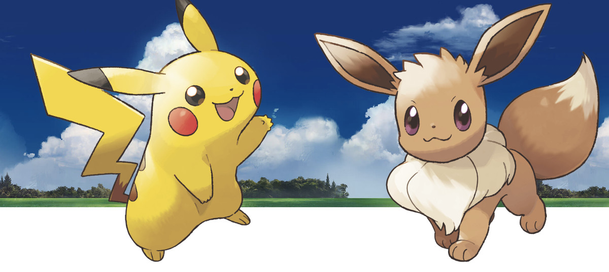 Pikachu and Eevee partner Pokémon