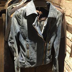 Moto jacket, $60 (was $268)