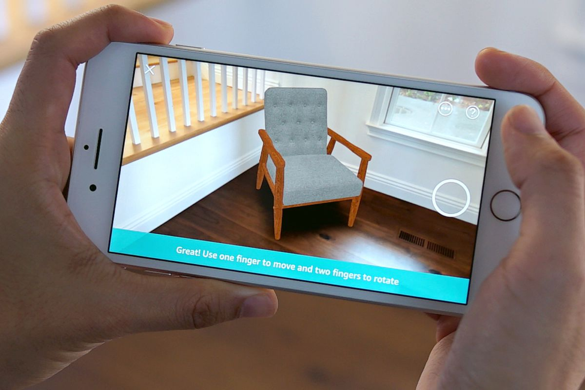 Amazon Adds ARKit Shopping to its iPhone App