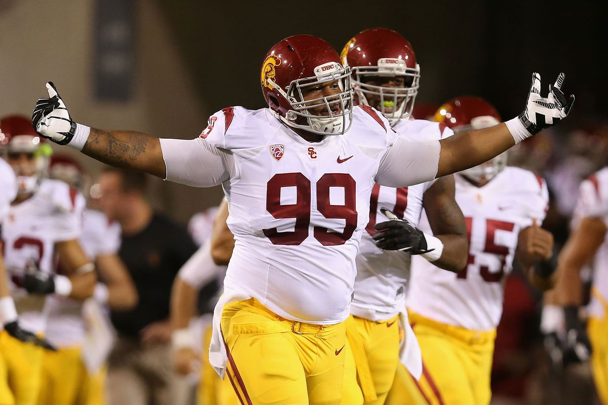 sale retailer b0588 ac6f6 Tennessee Titans sign USC DT Antwaun Woods as undrafted free ...
