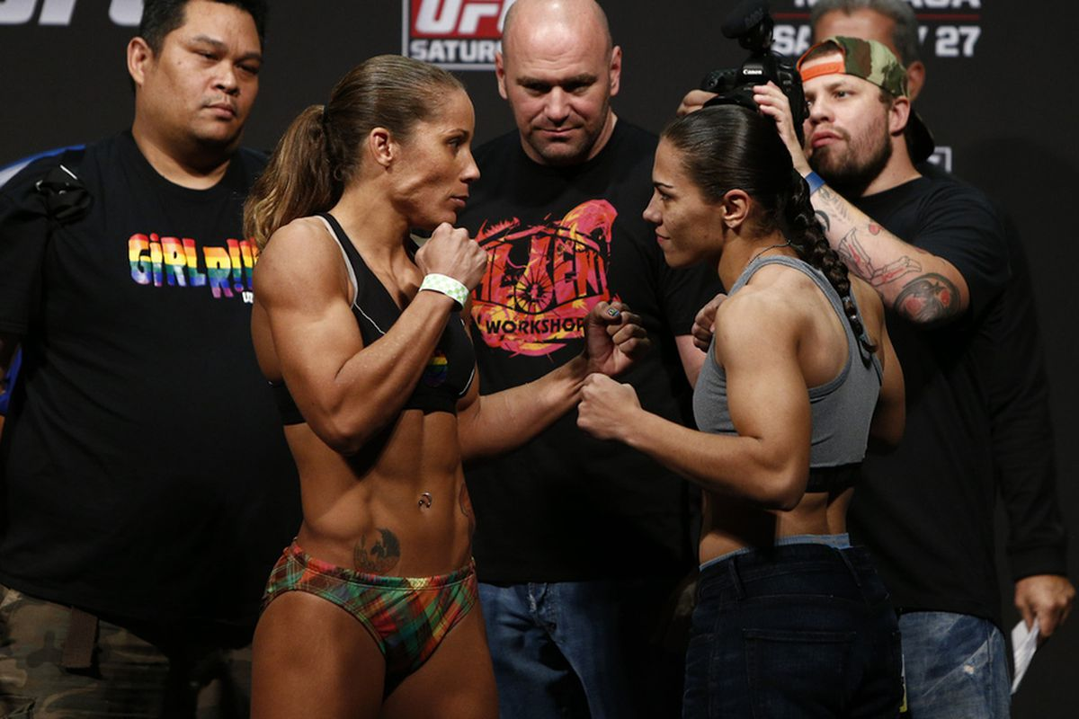 ufc on fox 8 fight card primer liz carmouche vs jessica andrade