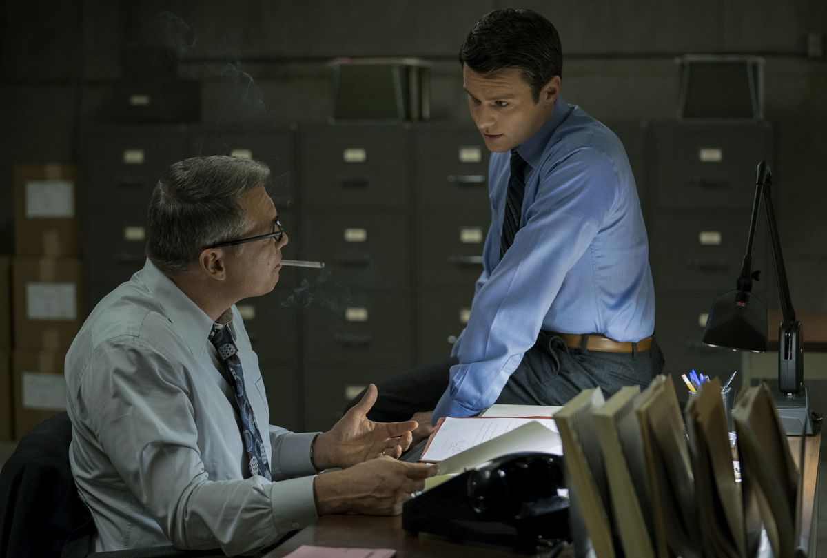Jonathan Groff and Holt McCallany in 'Mindhunter'