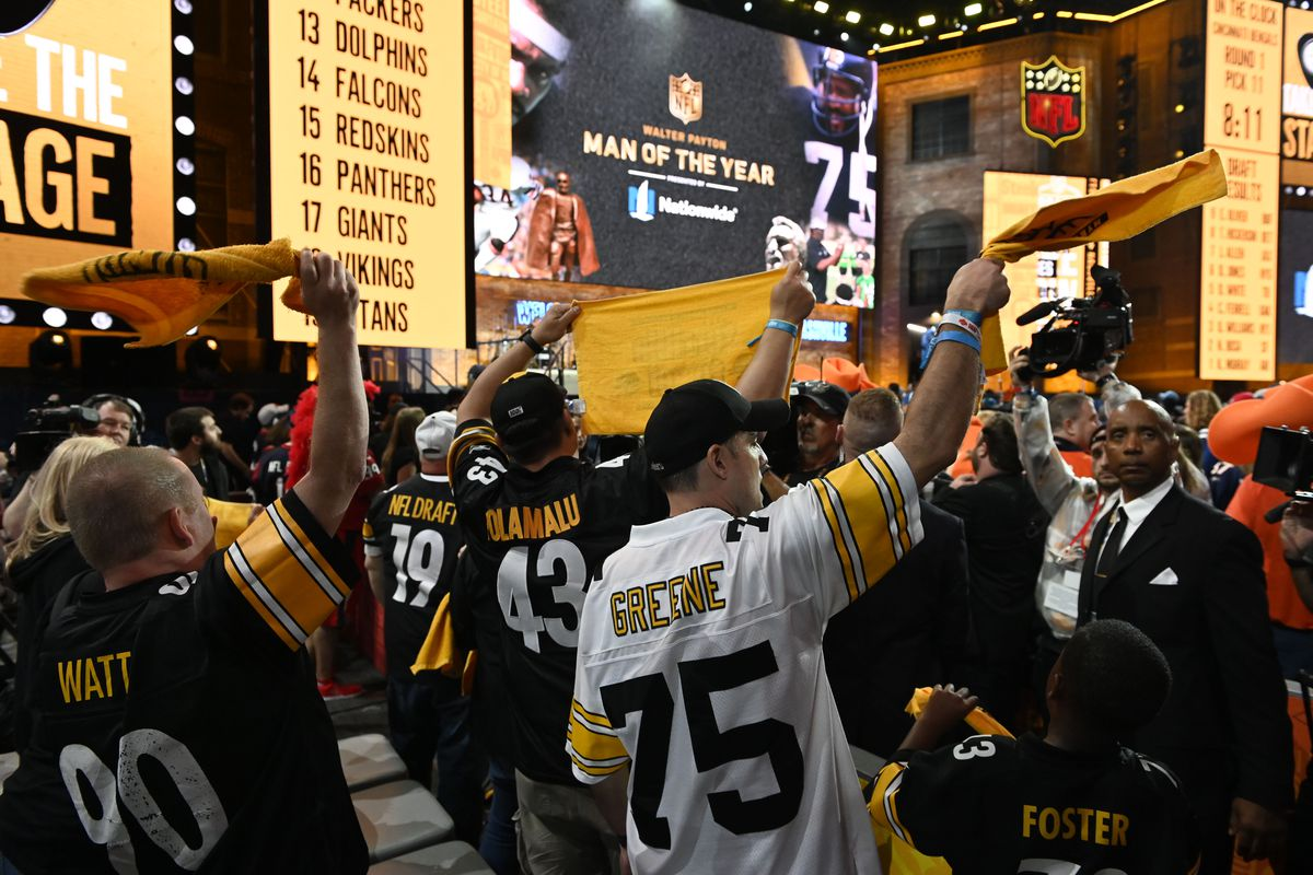 789ecb207 Pittsburgh Steelers fan guide to Day 2 of the 2019 NFL Draft ...
