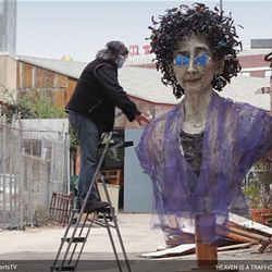 """Mindy Alper, a 56-year-old Los Angeles-based artist, is the subject of the Oscar-nominated documentary short """"Heaven is a Traffic Jam on the 405."""""""