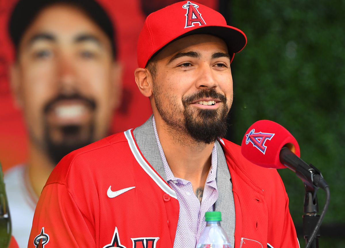 Los Angeles Angels Introduce - Anthony Rendon