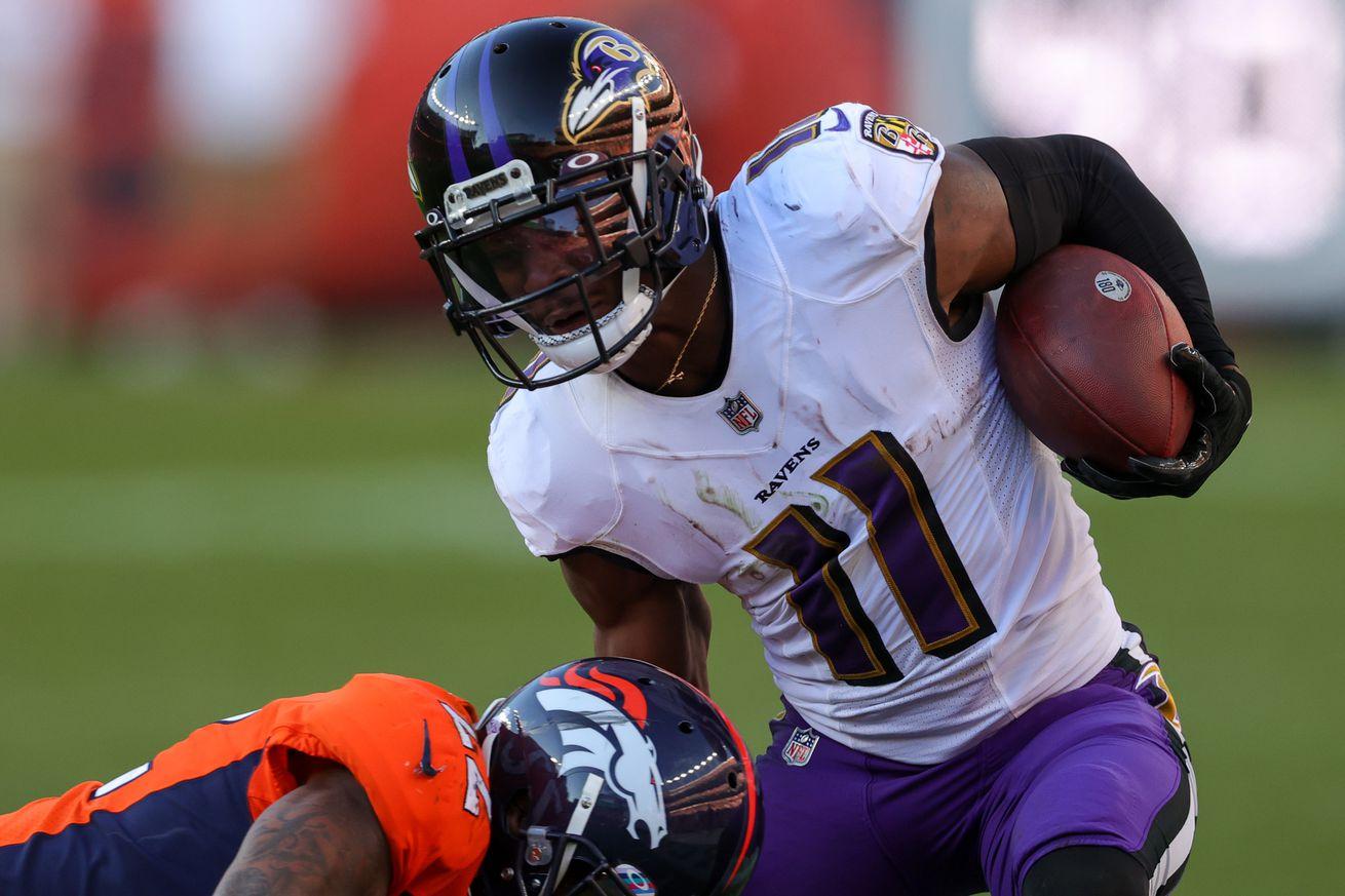 NFL: OCT 03 Ravens at Broncos
