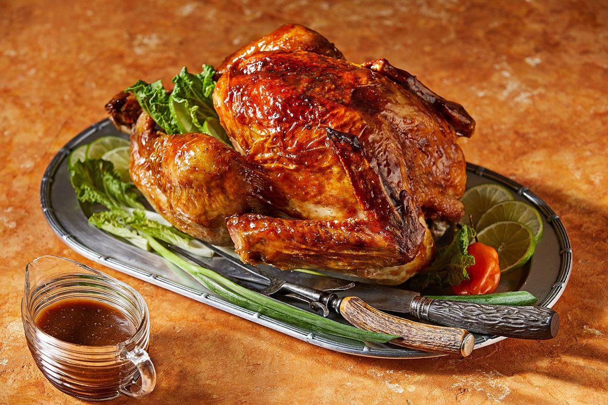 Voraciously Tamarind and Honey-Glazed Roast Turkey