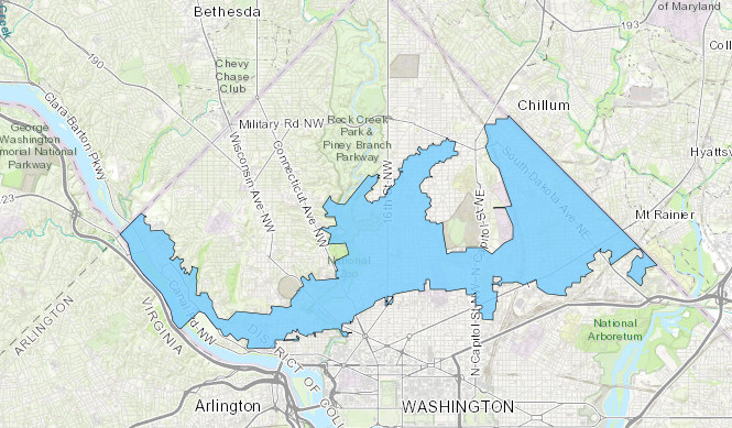 D C S Boil Water Advisory Here S A Map To See If Your Home Is