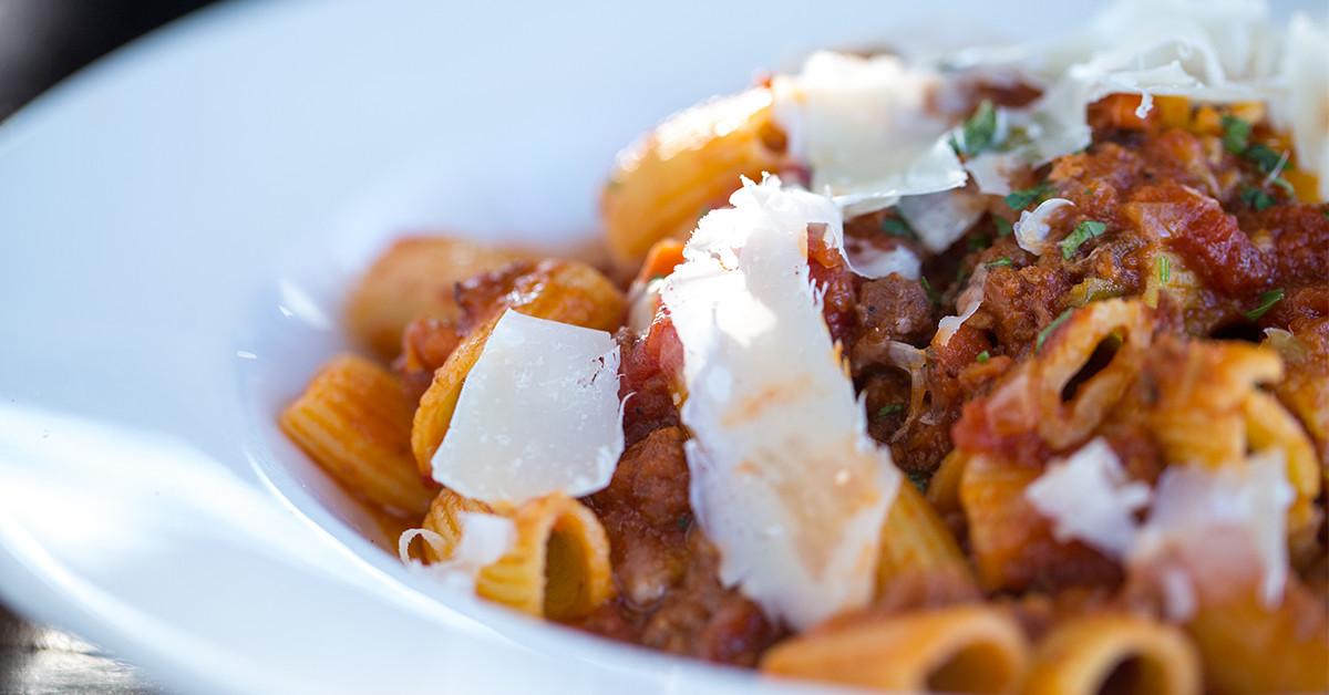 Pasta at Tuscan Kitchen