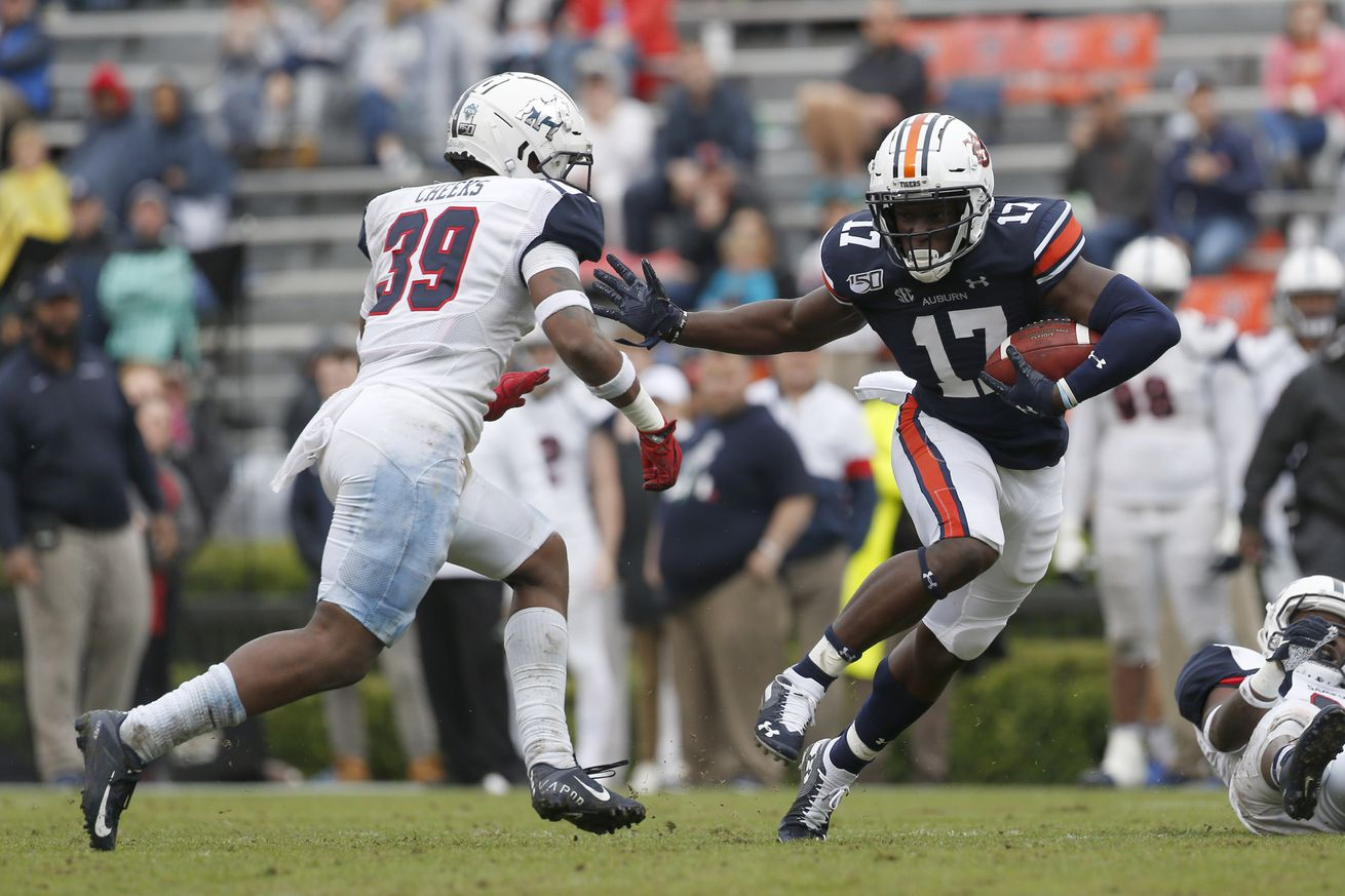 NCAA Football: Samford at Auburn