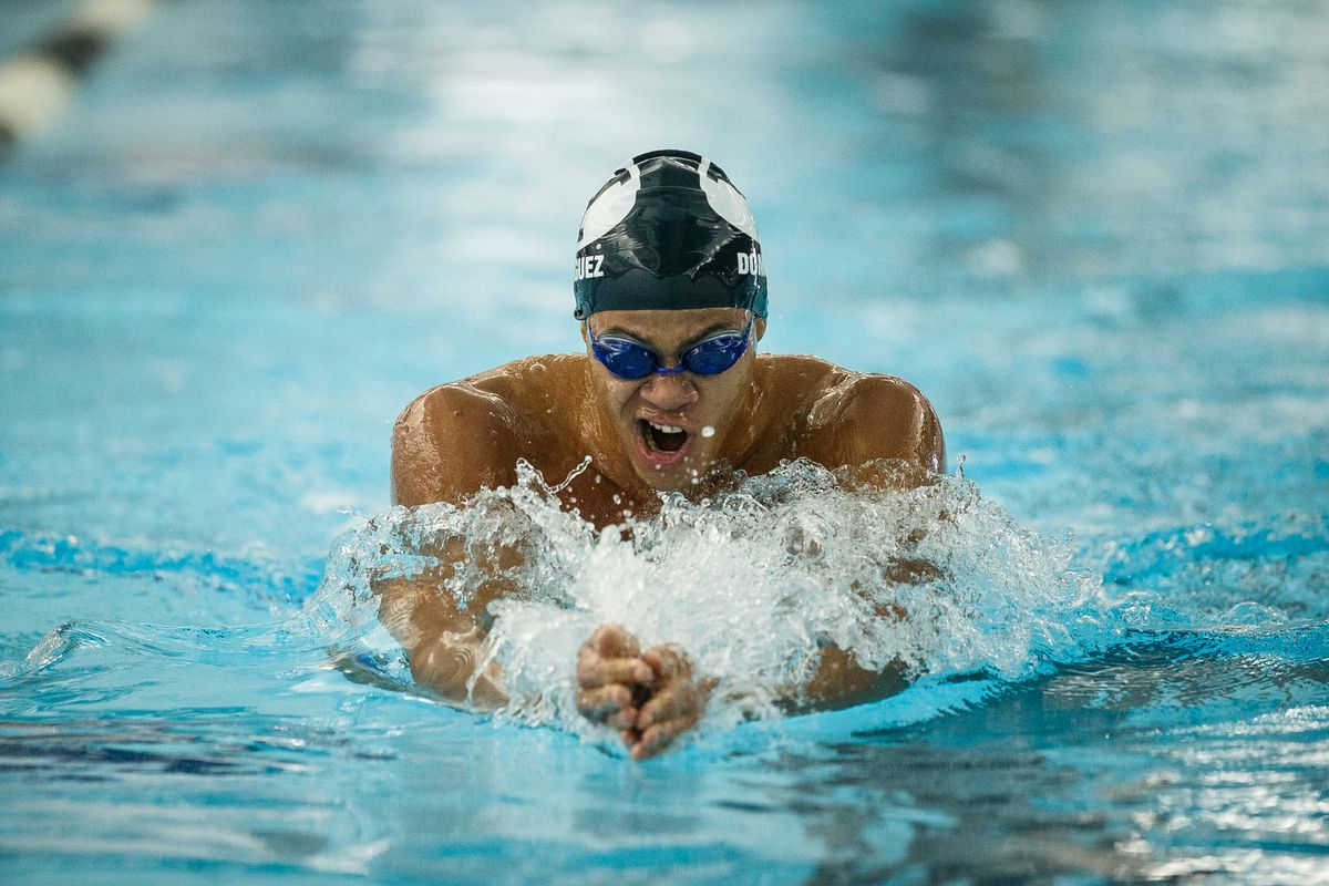 Josue Dominguez earns No. 2 fastest time in BYU history for the men's 200-yard breaststroke. Most recently, Dominguez competed in the Dominican Swimming Federation (FEDONA) National Swimming Championship where he took first place in two events.