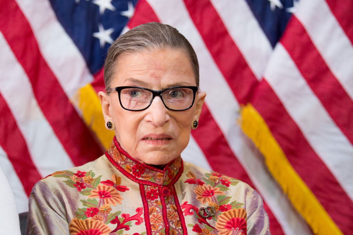 official photos 2ef0a abb17 Supreme Court Justice Ruth Bader Ginsburg, who gained fame for her spirited  advocacy of womens rights and gender equality, participates in an annual  ...
