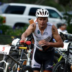 Clearfield resident David Henestrosa finished in fourth-place at the 2012 XTERRA Mountain Championship.
