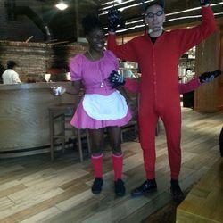 Ebony and Dana at Matchbox 14th Street.