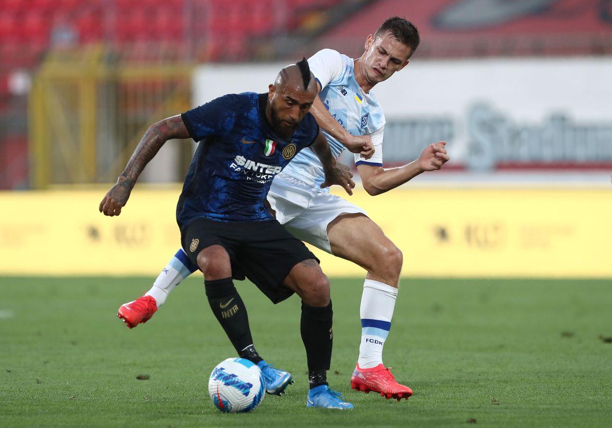 FC Internazionale v Futbol'nyj Klub Dynamo Kyïv - Pre-Season Friendly