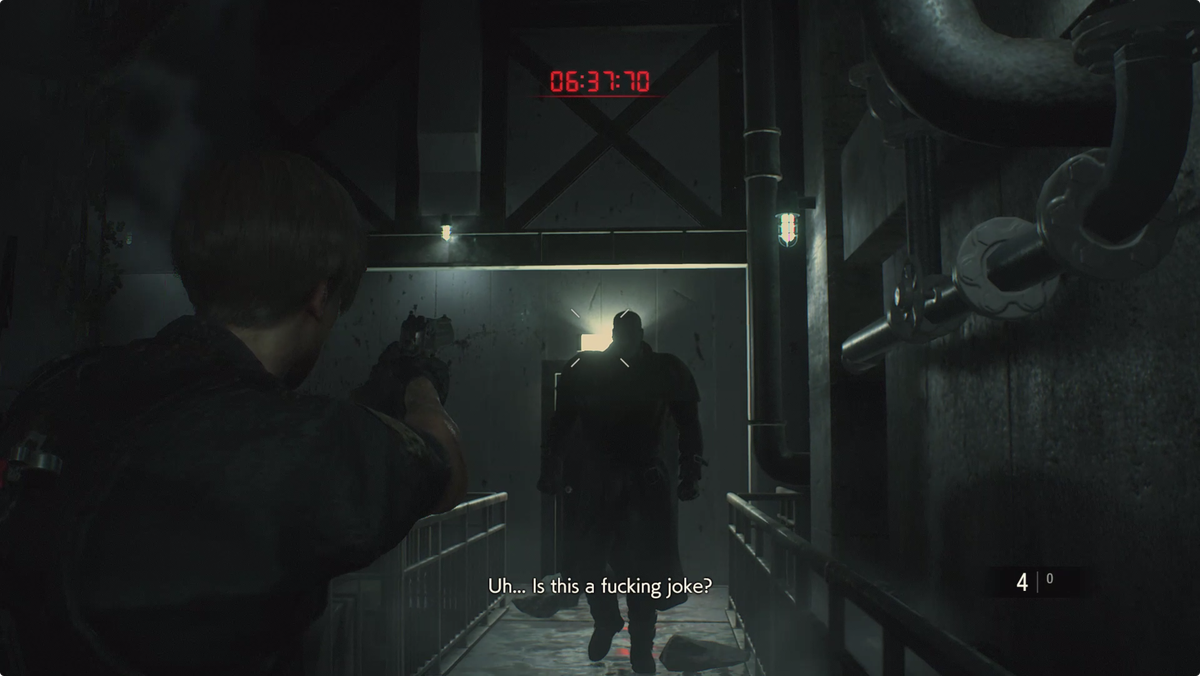 Resident Evil 2 West Area G Phase 3 Boss Fight And Escape The