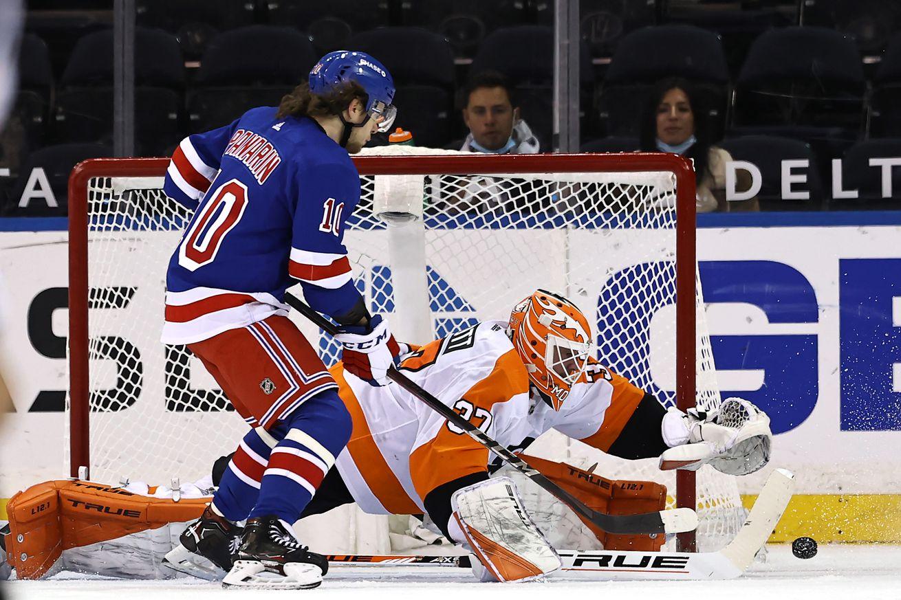 Philadelphia Flyers v New York Rangers