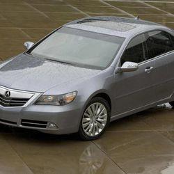 This undated publicity photo provided by America Honda Motor Co., Inc. shows a 2012 Acura RL sedan.