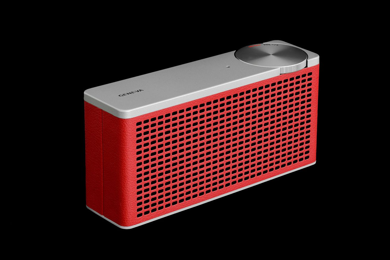 geneva labs latest bluetooth speaker just got even more compact