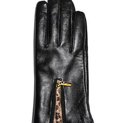 """Animal gusset gloves, $68 at <a href=""""http://guessbymarciano.guess.com/EN/CATALOG/VIEW/PMLEZIP01""""target=""""_blank""""> GUESS by Marciano</a>"""