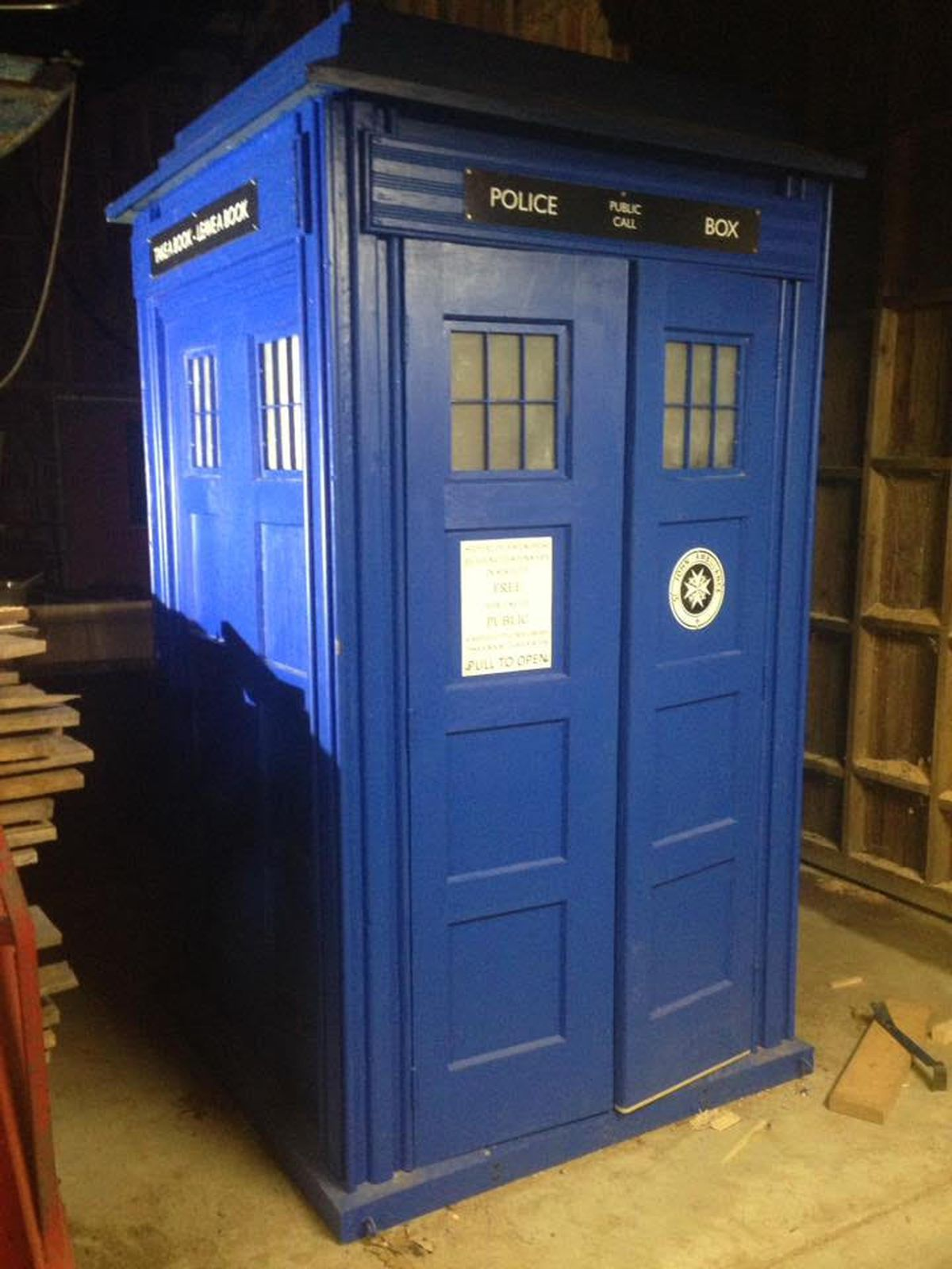 A Tardis Inspired Shared Library Is Coming To Woodbridge