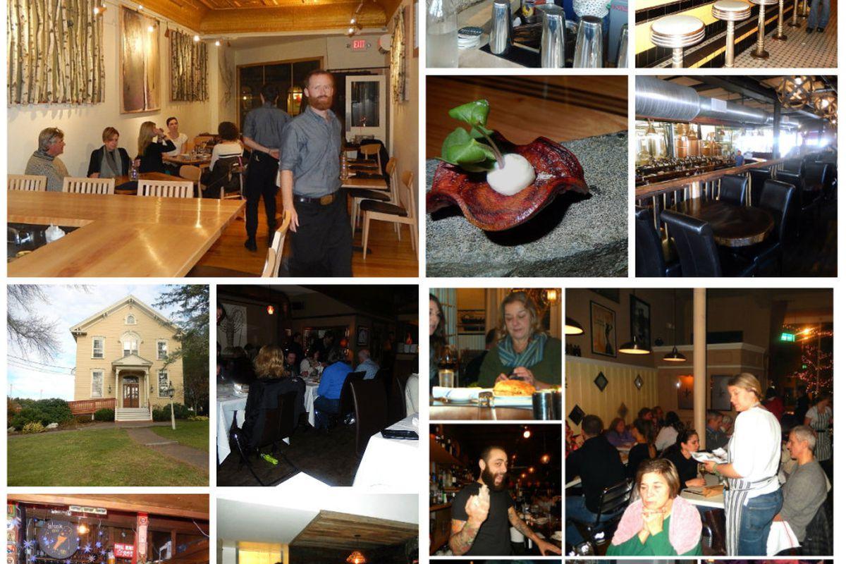 """Maine's varied dining scenes."""