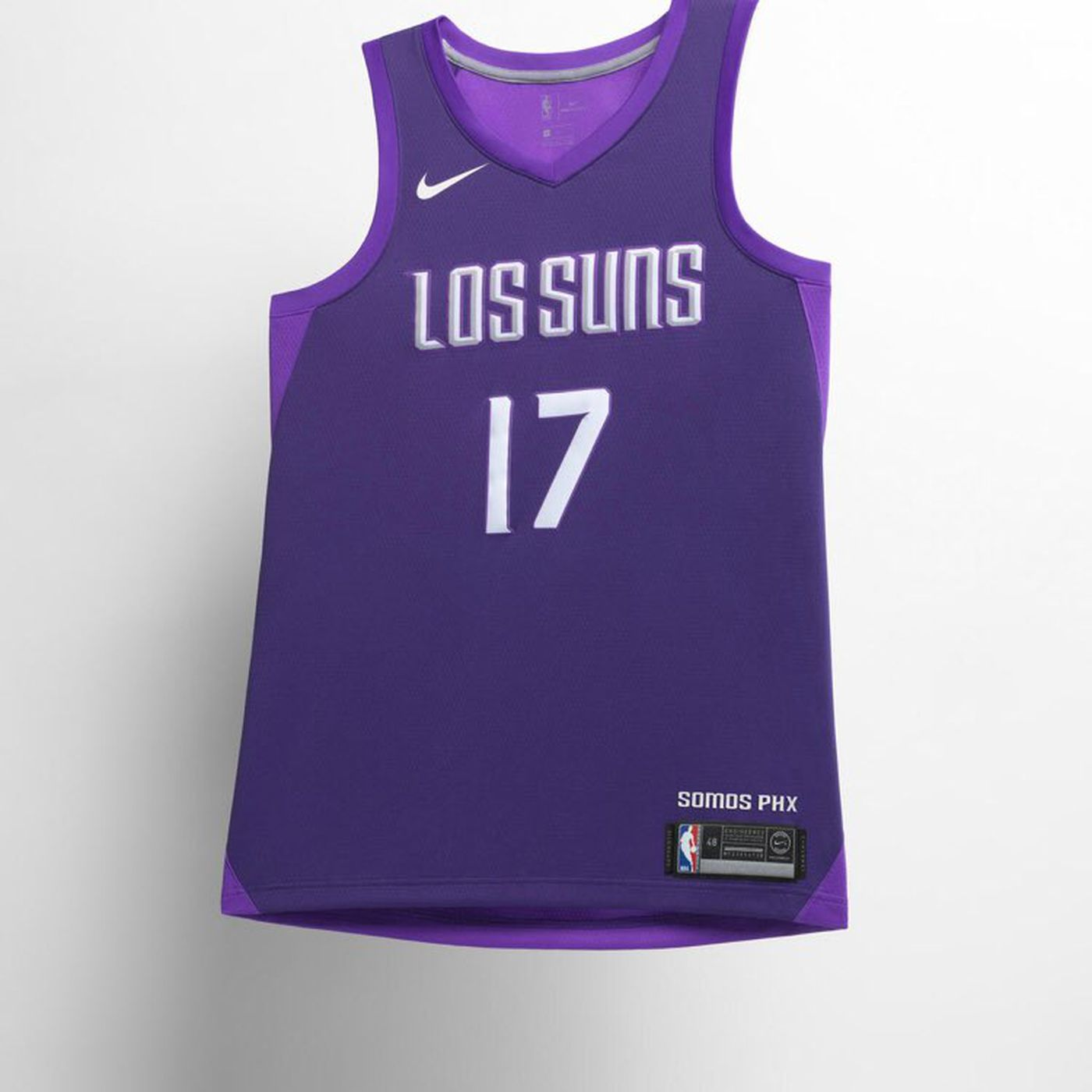Here is the Suns  Los Suns  City Edition uniform - Bright Side Of ... 3bd8ee1877fd