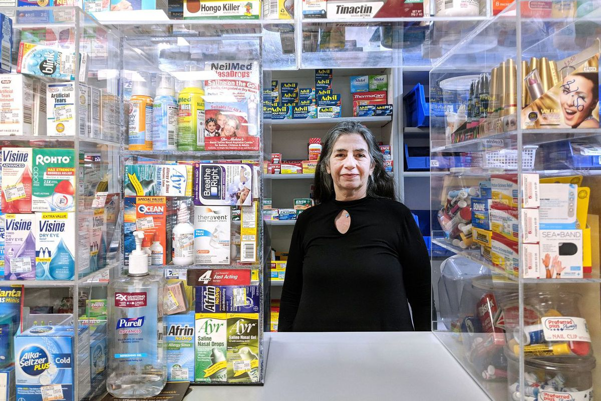 East Harlem supervising pharmacist Magda Ayac said she makes frequent 911 calls because of people with mental health issues hanging around 125th Street.