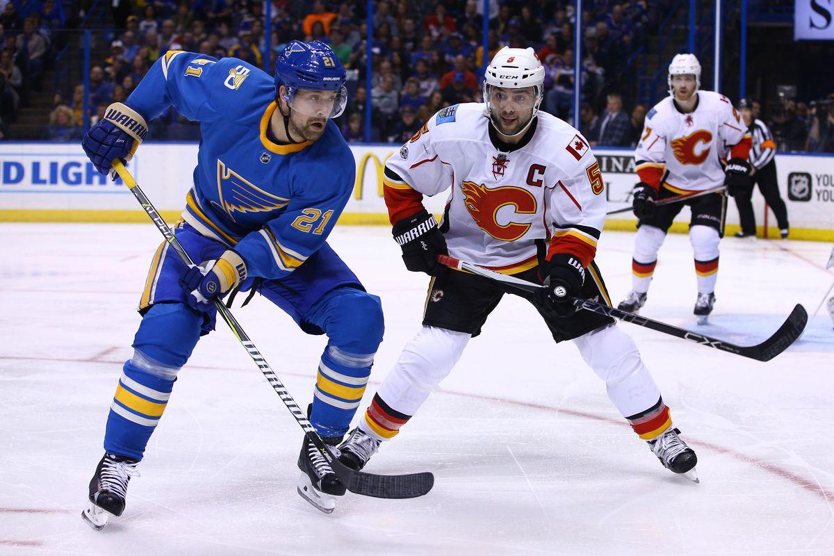 NHL: Calgary Flames at St. Louis Blues