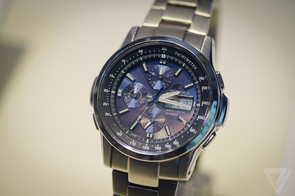The original smartwatches casios history of wild wrist designs today casio is focused on more traditional watches like this titanium oceanus model although the oceanus line has been discontinued outside japan gumiabroncs Images