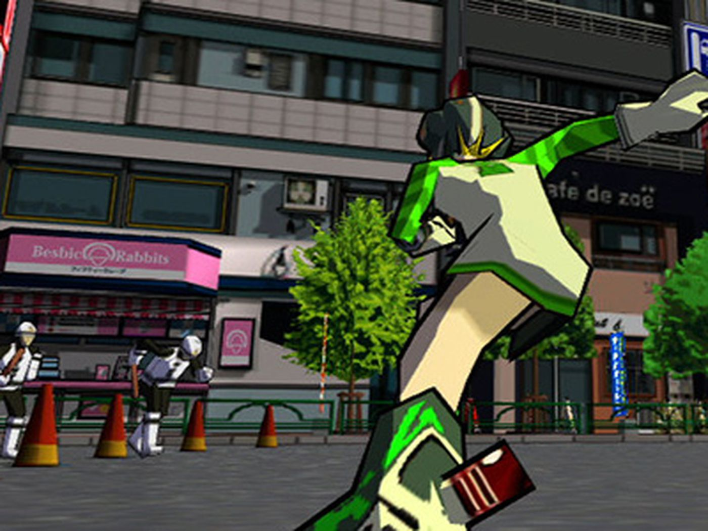 Jet Set Radio Hd Creators Look Back On The Original Game Polygon