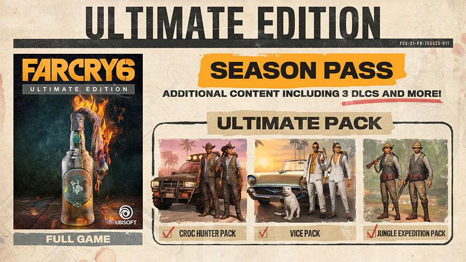 The Ultimate Edition of Far Cry 6