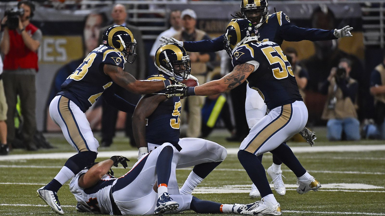 Rams-Broncos: Key Stats Analysis - Week 11 - Turf Show Times