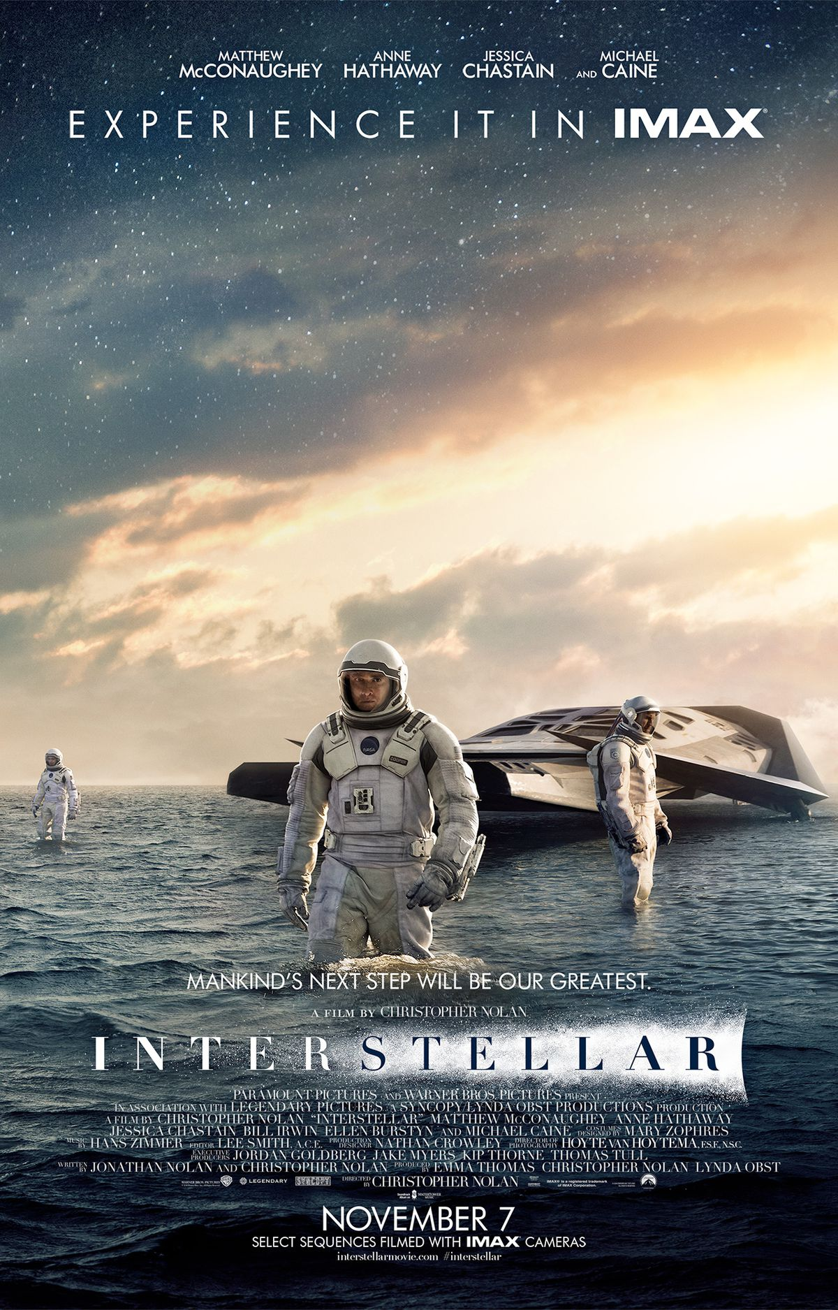 Interstellar IMAX poster 1280