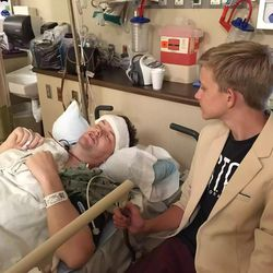 Amos Abplanalp has continued to serve as an LDS bishop amidst his cancer treatments.