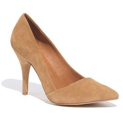 """<b>Leslie Price, <a href=""""http://racked.com/"""">Racked National</a> editor:</b> I believe I have found the perfect pump: <a href=""""https://www.madewell.com/madewell_category/SHOESANDSANDALS/pumpsandheels/PRDOVR~09354/09354.jsp?color_name=sandstone"""">Madewell'"""