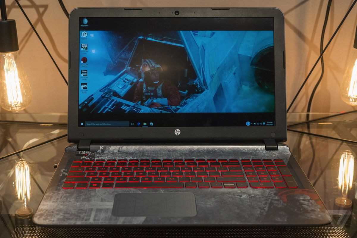 Hp Made A Star Wars Laptop With R2 D2 Sounds The Verge