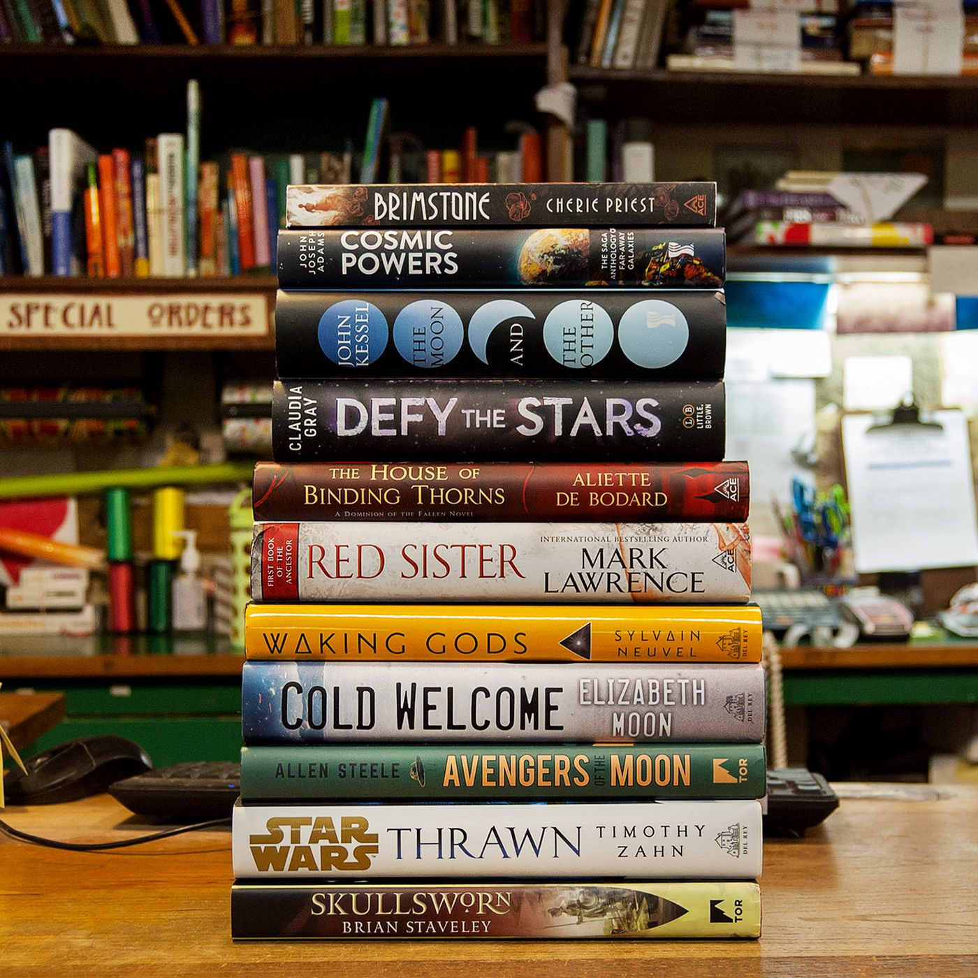 39 science fiction, fantasy, and horror novels to read this April