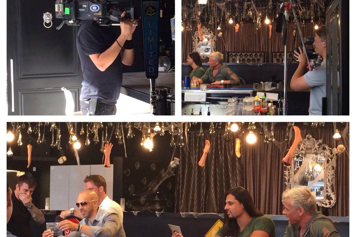 Gigolos filming at Mingo Kitchen & Lounge