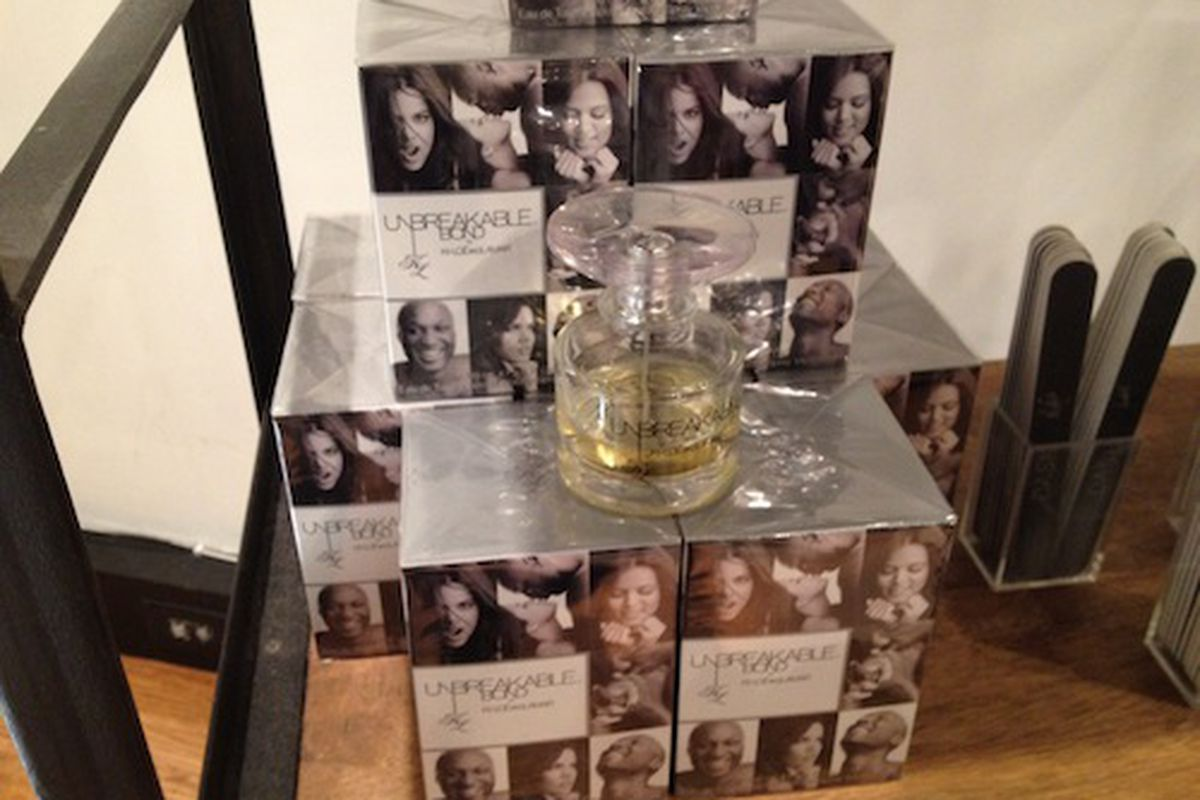 The Unbreakable Bond scent on the shelves of DASH Soho.