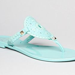 "<b>Jack Rodgers</b> Georgica Jelly Thong Sandal in Aqua, <a href=""http://www1.bloomingdales.com/shop/product/jack-rogers-thong-sandals-georgica-jelly?ID=703217&CategoryID=16961#fn=FOB%3DShoes%26spp%3D4%26ppp%3D96%26sp%3D1%26rid%3D%26spc%3D21%26kws%3Djelli"