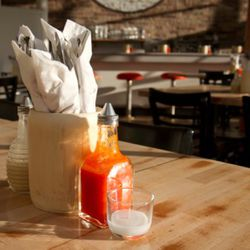 mojo and hot sauces are made in-house