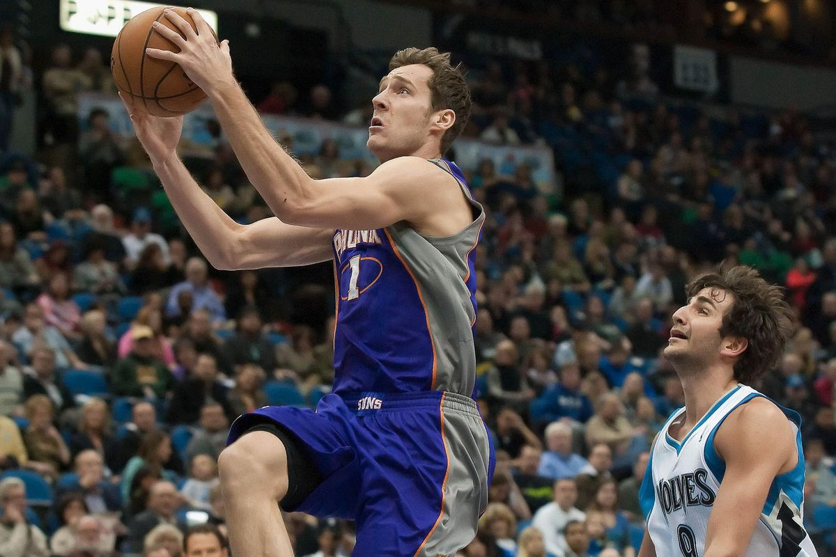 Ricky Rubio and the Timberwolves will try to slow down Goran Dragic and the Suns tonight.