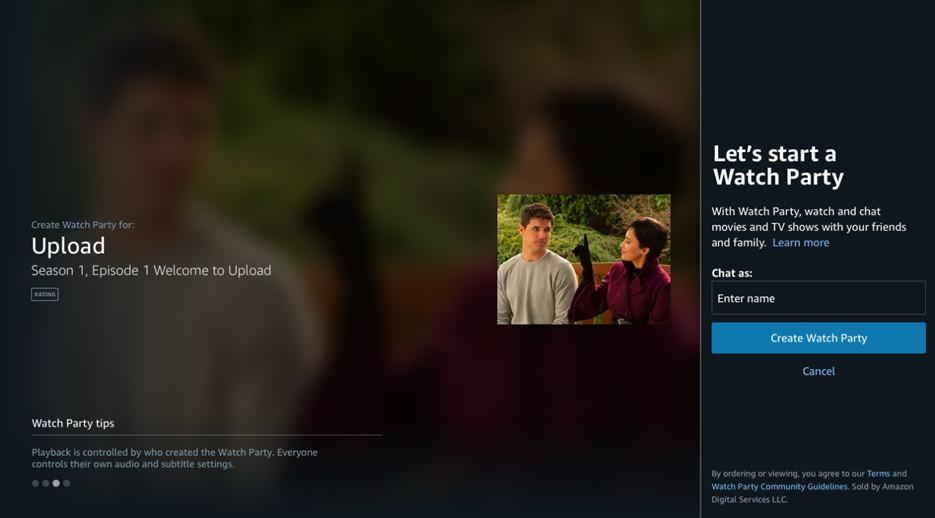 A Amazon está trazendo grupos de visualização virtual para assinantes Prime com o Watch Party 2