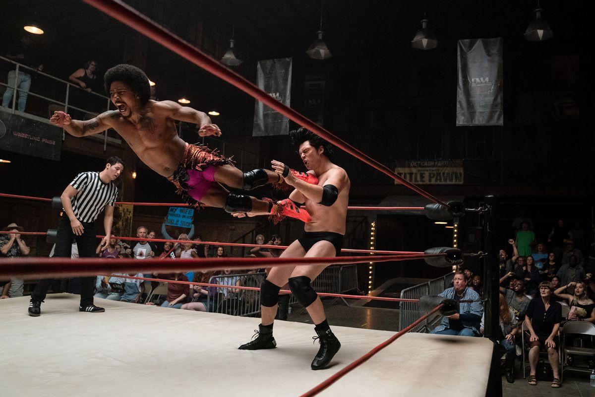 Bobby Pin (Trey Tucker) vs Rooster Robbins (Allen Maldonado) in Heels